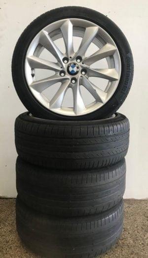 BMW 3 serie inch 18 velgen en banden