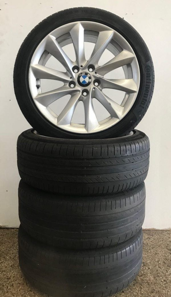 BMW 3 serie inch 18 velgn en banden